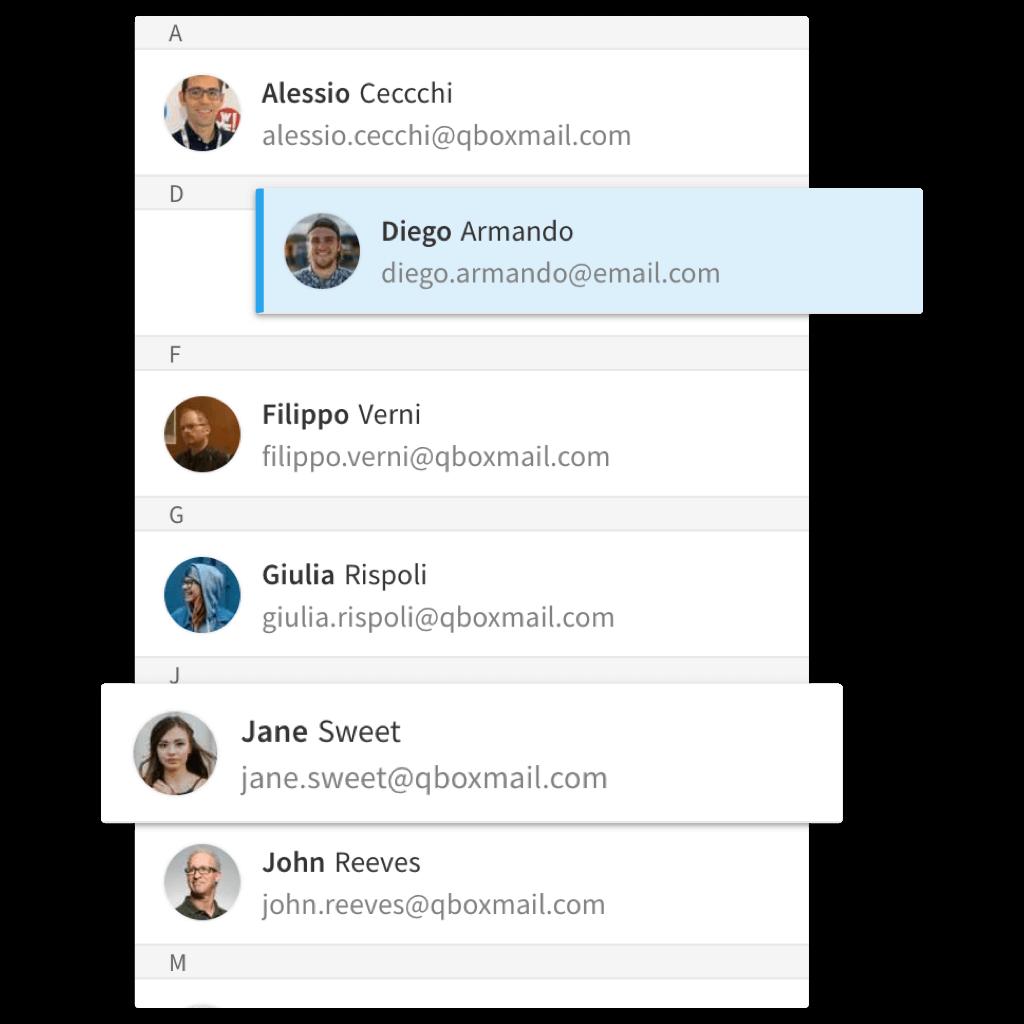 Collezione automatica degli indirizzi email