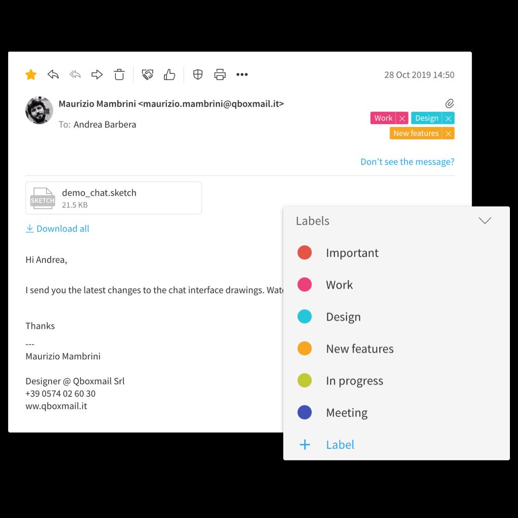 Organizza i tuoi messaggi email in modo semplice e veloce