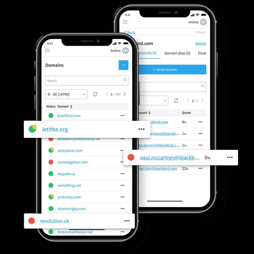 App Pannello Qboxmail